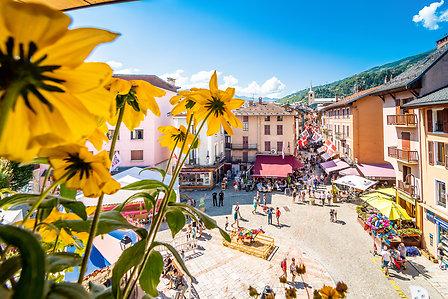 Centre ville de Bourg Saint Maurice