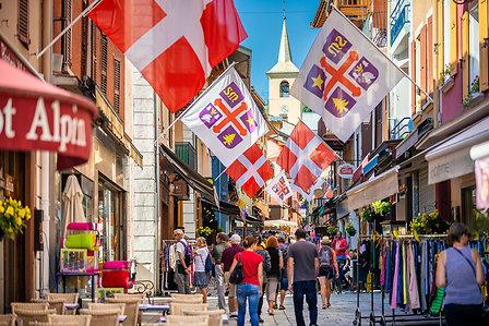 Grande rue de Bourg Saint Maurice