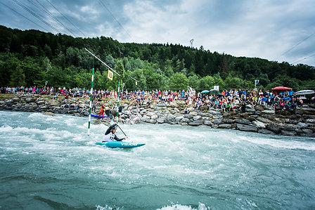 Canoë kayak à Bourg Saint Maurice